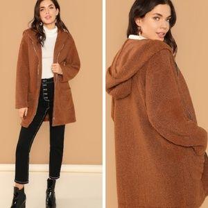 🆕️Teddy Coat w/Pockets!